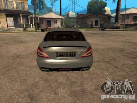 Mercedes-Benz CLS 63 AMG Armenian для GTA San Andreas вид справа