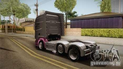 Scania R620 Eskrem Gerrok для GTA San Andreas вид сзади слева