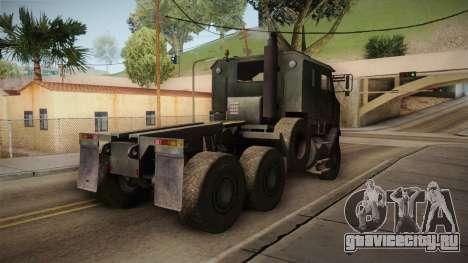 M1070 6x6 Oshkosh HET для GTA San Andreas вид справа