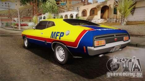 Ford Falcon 351 GT AU-spec (XB) 1973 HQLM для GTA San Andreas салон