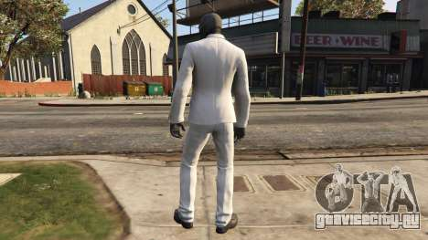 BAK Black Mask для GTA 5 второй скриншот