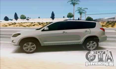 Toyota RAV4 1.0 для GTA San Andreas вид слева