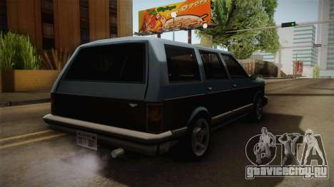 Bobcat Station Wagon v3 для GTA San Andreas вид сзади слева