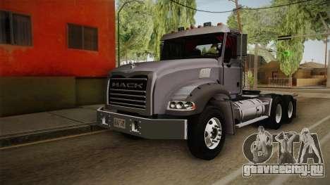 Mack Granite 2010 для GTA San Andreas
