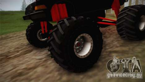 AMC Pacer Monster Truck для GTA San Andreas вид сзади