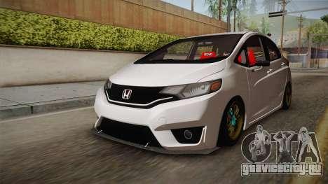 Honda Jazz GK 2014 для GTA San Andreas вид справа