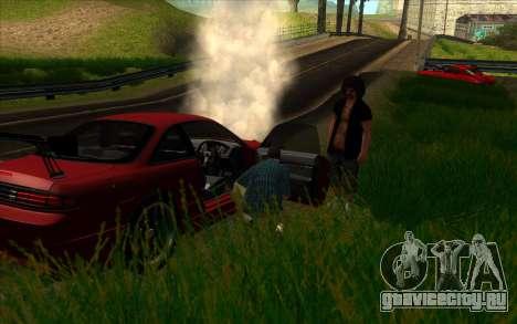 Дорожное приключение 2.0 для GTA San Andreas третий скриншот