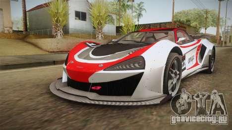 GTA 5 Progen Itali GTB Custom IVF для GTA San Andreas колёса