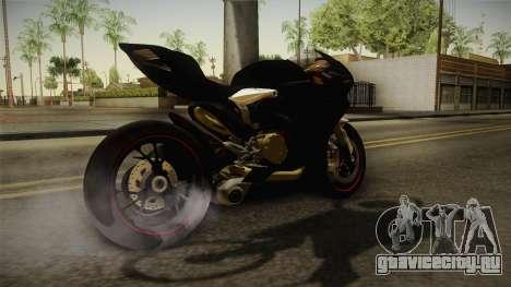 Ducati 1299 Panigale S 2016 Tricolor Black для GTA San Andreas вид слева