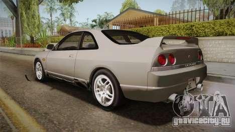 Nissan Skyline GTS25-t Mk.IX R33 Paintjob для GTA San Andreas вид слева