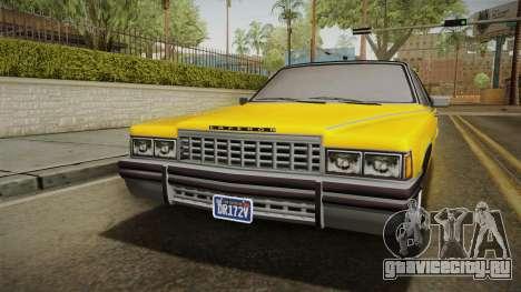 GTA 5 Albany Emperor Custom для GTA San Andreas