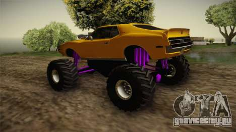 AMC Javelin AMX 401 1971 Monster Truck для GTA San Andreas вид справа