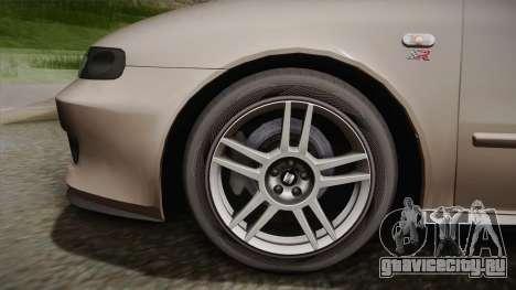 Seat León Cupra R Series I Typ 1M Tunable для GTA San Andreas вид сзади слева
