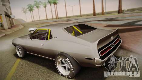 AMC Javelin AMX 401 1971 Drag для GTA San Andreas вид слева