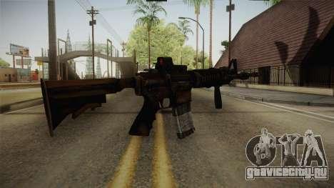 Tactical M4 для GTA San Andreas третий скриншот