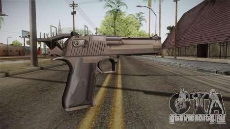 Desert Eagle 50 AE Silver для GTA San Andreas второй скриншот