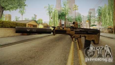 DesertTech Weapon 2 Silenced для GTA San Andreas
