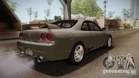 Nissan Skyline GTS25-t Mk.IX R33 Paintjob для GTA San Andreas вид справа