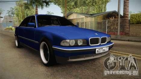 BMW 730d E38 для GTA San Andreas вид справа