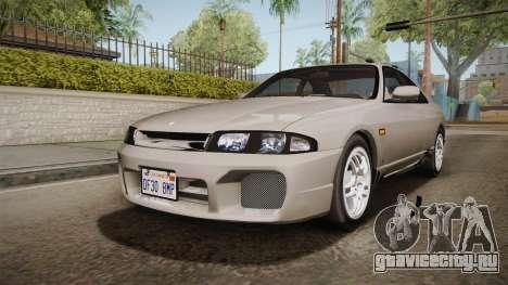 Nissan Skyline GTS25-t Mk.IX R33 Paintjob для GTA San Andreas вид сзади слева