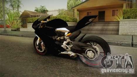 Ducati 1299 Panigale S 2016 Tricolor Black для GTA San Andreas вид справа