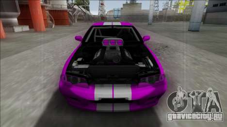 Nissan Skyline R32 Drag для GTA San Andreas вид справа