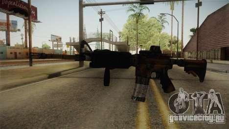 Tactical M4 для GTA San Andreas второй скриншот