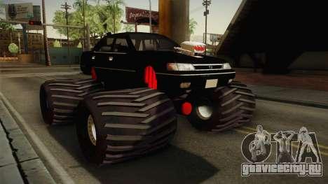 Subaru Legacy 1992 Monster Truck для GTA San Andreas вид справа