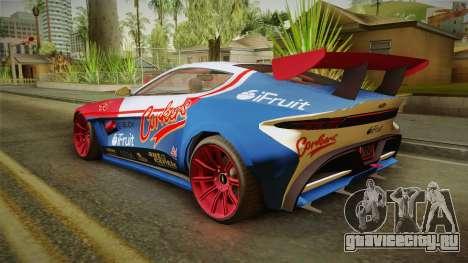 GTA 5 Dewbauchee Specter Custom для GTA San Andreas вид снизу