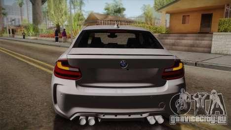 BMW M2 2017 для GTA San Andreas вид сбоку