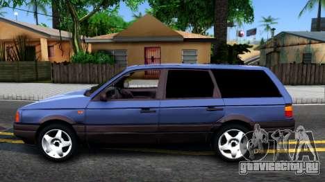 Volkswagen Passat B3 Wagon для GTA San Andreas вид слева