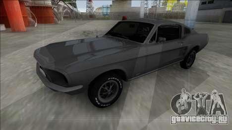 1967 Ford Mustang FBI для GTA San Andreas