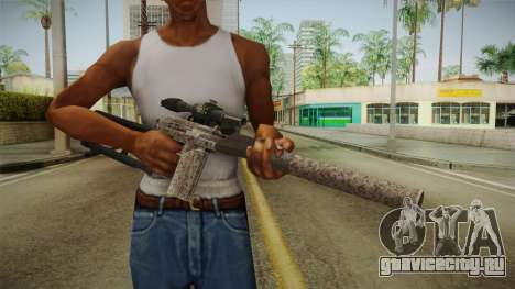 Survarium - VSK-94 Camo для GTA San Andreas третий скриншот