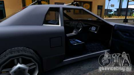 Elegy JDM для GTA San Andreas вид изнутри