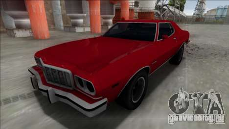1975 Ford Gran Torino для GTA San Andreas вид сзади слева