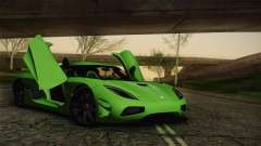 Koenigsegg Agera Color Interior для GTA San Andreas