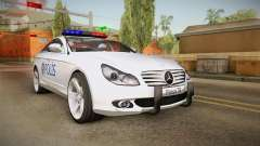 Mercedes-Benz CLS 500 Turkish Police для GTA San Andreas