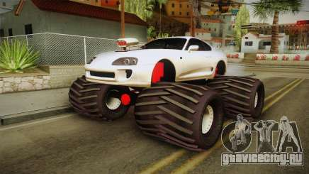 Toyota Supra Monster Truck для GTA San Andreas