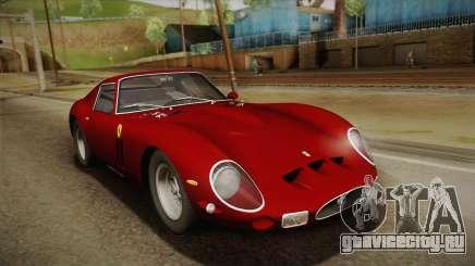Ferrari 250 GTO (Series I) 1962 HQLM PJ1 для GTA San Andreas