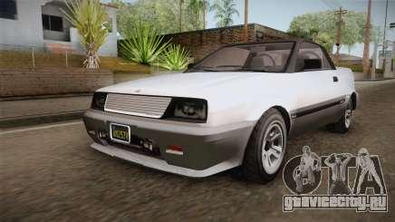 GTA 5 Dinka Blista Cabrio для GTA San Andreas