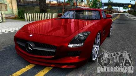 Mercedes Benz SLS AMG 6.3 2011 для GTA San Andreas