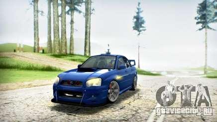 SUBARU IMPREZA WRX STi V.2 (IVF 2.0.2) для GTA San Andreas