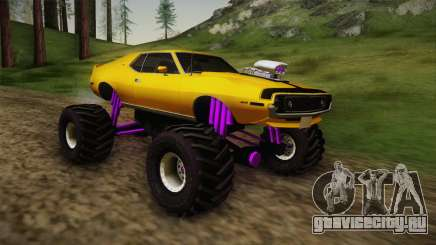 AMC Javelin AMX 401 1971 Monster Truck для GTA San Andreas