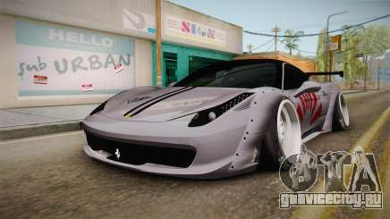 Ferrari 458 Liberty Walk Performance для GTA San Andreas