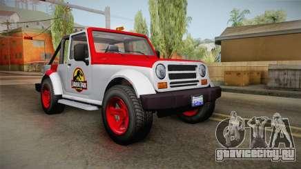 GTA 5 Canis Mesa Jurassic Park IVF для GTA San Andreas