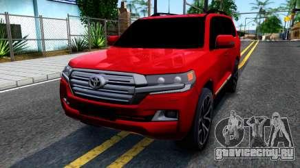 Toyota Land Cruiser 2016 для GTA San Andreas
