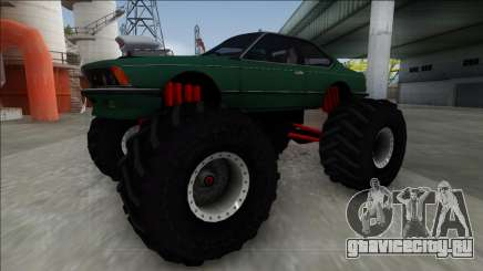 1984 BMW M6 E24 Monster Truck для GTA San Andreas