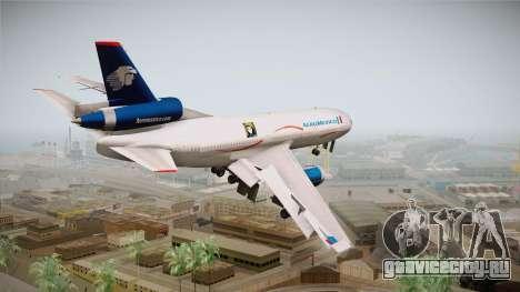 McDonnell-Douglas DC-10 Aeromexico для GTA San Andreas вид слева