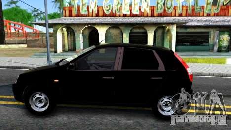 ВАЗ 2119 Калина для GTA San Andreas вид слева