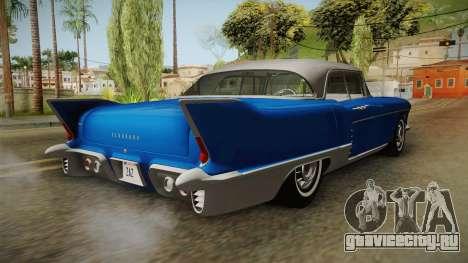 Cadillac Eldorado Brougham 1957 IVF для GTA San Andreas вид сзади слева